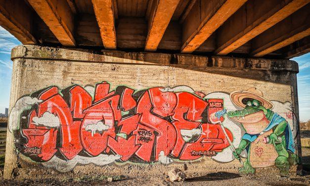 Street art Бургас- Батака
