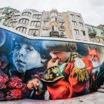 Графити в Бургас | Street art Burgas преди 2020