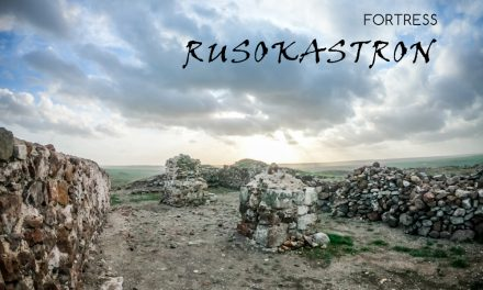 Medieval fortress Rusokastron