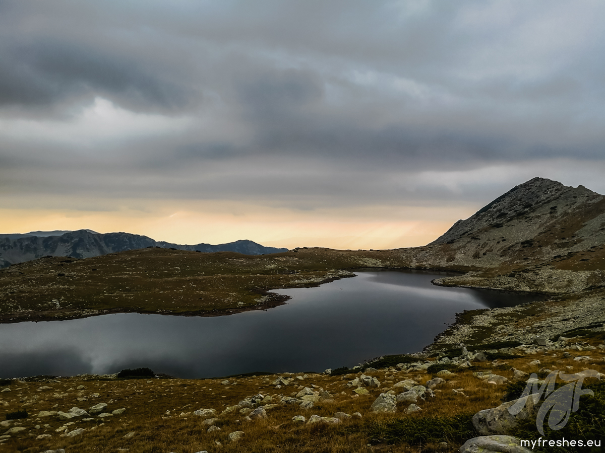 Tevno lake sunset