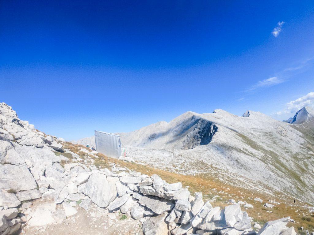 Alpine shelter Koncheto