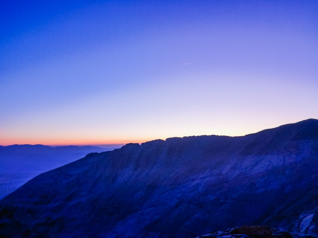 Sunrise and Sunset from Koncheto area: