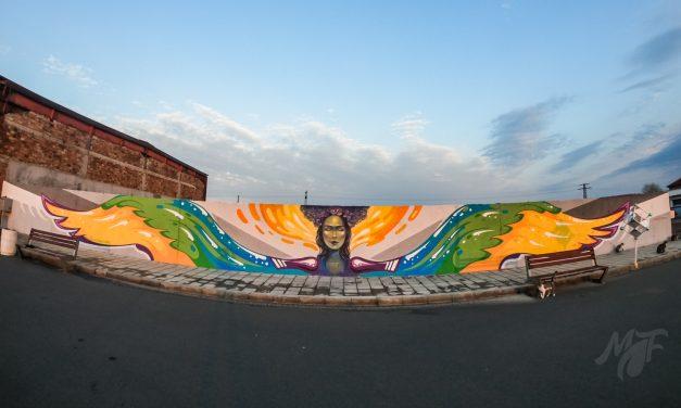 Графит на богинята Еос в района на Бургаските Солници