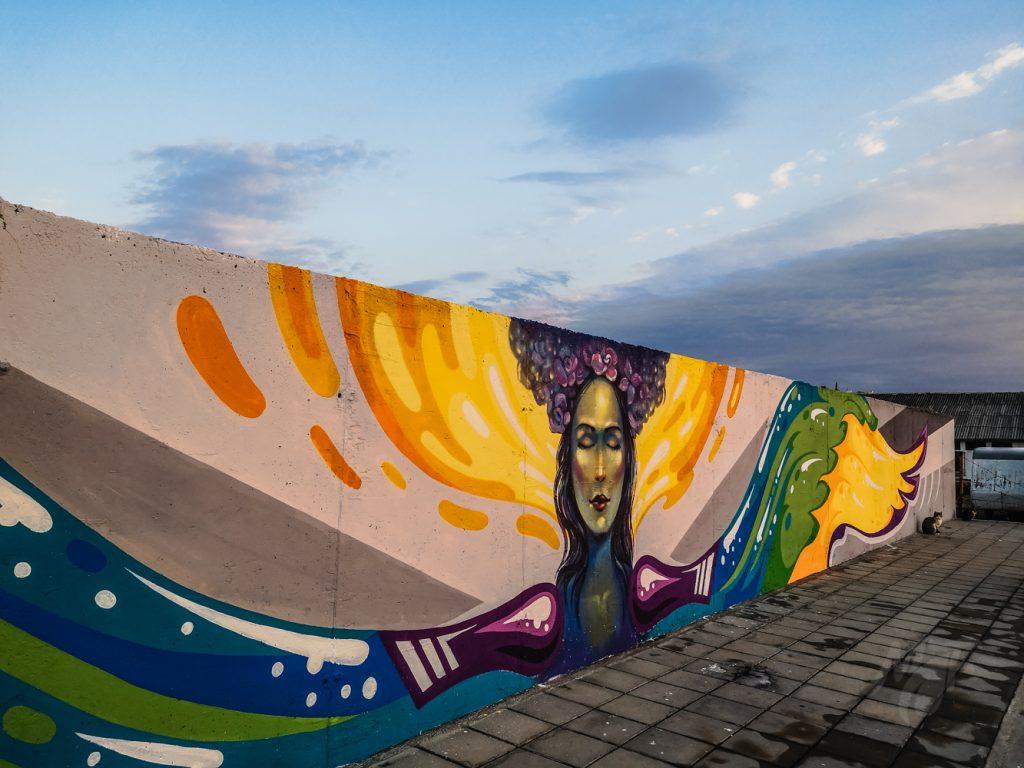 графит с богинята Еос - Бургаски Солници