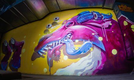 Large exhibition hall for graffiti art in Burgas