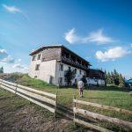 Hut Lednitsata in Western Rhodopes, Bulgaria