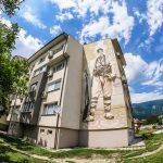 Графит с образа на Васил Левски в Сопот
