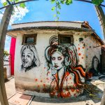 Painted shop in village Prosenik