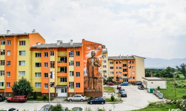 Графити проект – Вазов, в село Анево