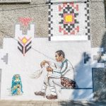 Graffiti project recreates the magnetic power of Bulgarian folklore