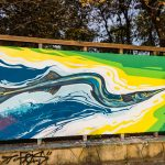"""Movement"" – Graffiti wall in Burgas"